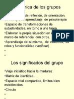 Coordinación de Grupos
