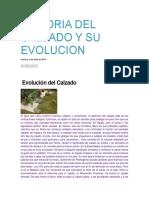 Historia Del Calzado y Su Evolucion