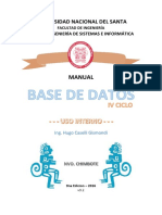 Manual Base de Datos