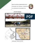 Informe Visita Puente Reque de La Cruz