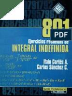 801 Ejercicios Resueltos de Integral Indefinida.pdf