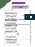 Estrategias de Aprendizaje-Estilos de Aprendizajes