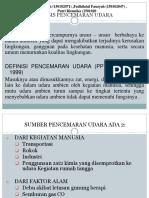 Analisis Pencemaran Udara