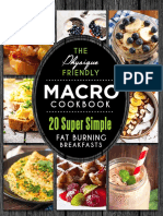 Macro Cookbook - Breakfast