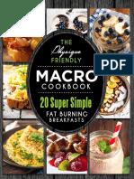 Macro Cookbook - Breakfast