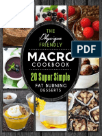 Macro Cookbook - Desserts
