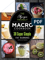 Macro Cookbook - Smoothies