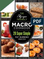 Macro Cookbook - Snacks