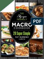 Macro Cookbook - Lunch