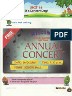 Y3 SK Textbook Unit 16 Its Concert Day