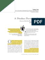 FICO, Carlos. a Ditadura Documentada