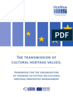 The Transmission of Cultural Heritage Values