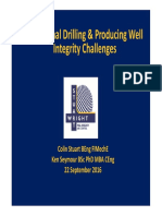 5T. Geothermal Drilling Producing Well Integrity Challenges K.seymore