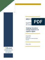 2011-QAIB-Inestor Behavior Quant Analysis