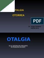 OTALGIA OTORREA