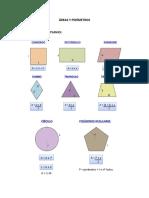 Áreas y Perímetros