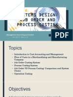 Systems Designs_job and Process Costing