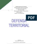 Resumen de Defensa