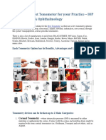? Finding the Best Tonometer for Your Practice - IOP in Optometry and Ophthalmology