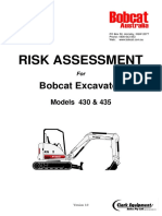 Risk Assessment - Zeroswing Excavator