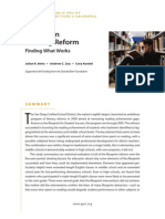 PPIC Study on Reading Reform