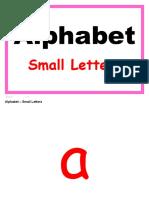Flashcards Alphabet