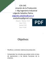 20171ICN345V001 Programacion Semestral ICN 345