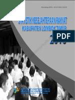 Statistik Kesejahteraan Rakyat Kabupaten Lombok Timur 2016