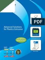 Dynisco Advanced Solutions for Plastics Extrusion