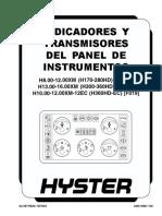 Indicadores Panel de Instrumentos