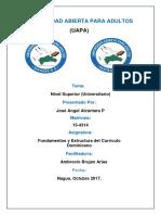 Tarea 6 de Fundamento y Estructura Del Curriculo