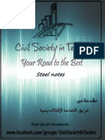 Husam Bani Naser-steel Notes-part 1-Civil Society in Techno