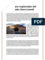Biografia David Lowell