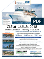 California Bar CLE at Sea Flyer
