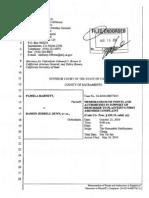 BARNETT v DUNN (STATE CASE CALI) - Memorandum of Points and Authorities - DefaultDMS