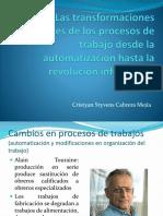 Las Transformaciones Recientes de Los Procesos de Trabajo