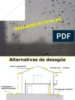 desague pluvial