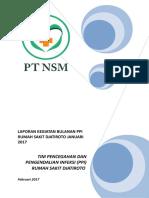 Laporan Bulanan PPI JANUARI 2017