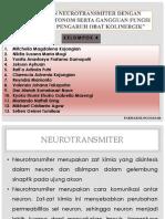 Hubungan Neurotransmiter Dengan Kerja Obat Otonom Serta