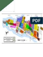 Plano Yacuiba Urbano Actualizado