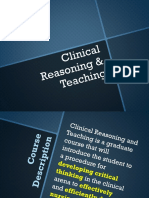 Geh-Clinical Reasoning and Teaching