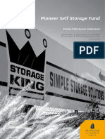 Pioneer Self Storage Fund Oct 15 PDS
