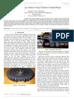Spur Gear Damage Analysis Using Variation of Speed Range