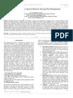 A Study on Hyper Spectral Remote Sensing Pest Management