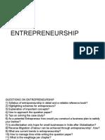 15216719 Entrepreneurship