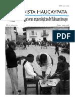 Revista Haucaypata. Nro. 11. 2016