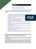 TP7 Comunicación Política - Democracia Electrónica
