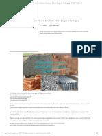 Daftar Berat Jenis Material Konstruksi Bahan Bangunan Terlengkap - KITASIPIL