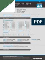 4k Certification Display Sony XBR-65X900A Web