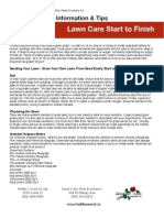 Lawn Care Start to Finish